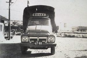 いすゞTD幌箱型トラック