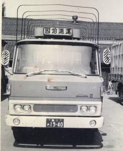 日野レンジャー初期KL平型トラック